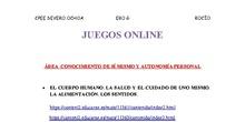 JUEGOS ONLINE VARIAS ÁREAS EBO G