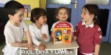 INFANTIL 4 AÑOS B- LA CASA DE LOS BESOS- ANIMACIÓN A LA LECTURA-
