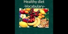 PRIMARIA - 5º - HEALTHY DIET - INGLÉS - FORMACIÓN