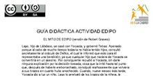 El mito de Edipo, actividad para ámbito sociolingüístico 1º ESO