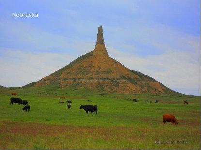 Nebraska Chimney Rock