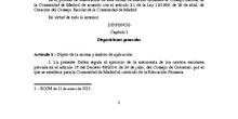 Orden TRD_CEIP FDLR_Las Rozas