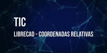 LibreCAD 02: Coordenadas relativas
