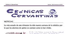Crónicas Cervantinas - 26 de marzo de 2015