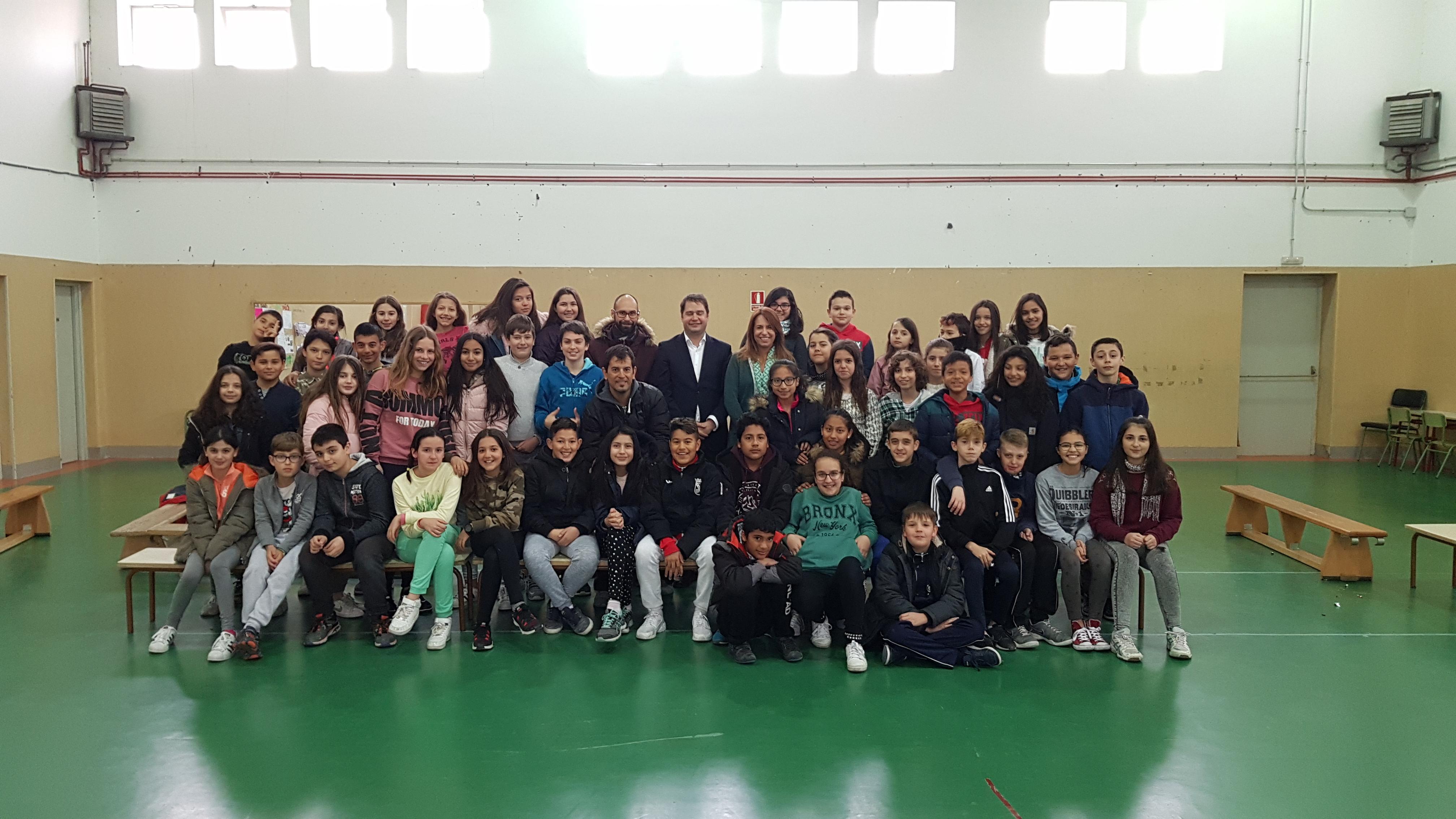 Visita del Alcalde de Torrejón de Ardoz al CEIP Andrés Segovia 9