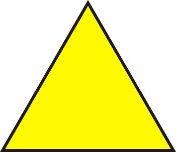Tres lados. Triángulo