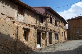 Vivienda tradicional, Calatañazor, Soria, Castilla y León