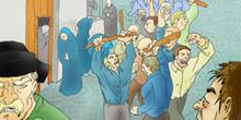 El Aljofár: Multitud enardecida