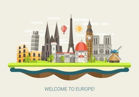 fotos edificios de Europa para pintura patio 2