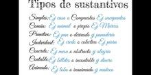 PRIMARIA - 6º A - SUSTANTIVO, ADJETIVO Y DETERMINANTE - LENGUA CASTELLANA Y LITERATURA - MARÍA