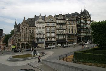 Calle Coudenberg, Bruselas, Bélgica