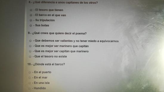 COMPRENSIÓN LECTORA 6 5 DE MAYO