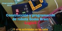 """#cervanbot IV: """"Construcción y programación de robots Goma Brain"""" con Logix 5 (grabaciones realizadas por alumn@s)"""
