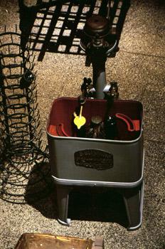 Lavadora de botellas eléctrica, Museo de la Sidra de Asturias, N