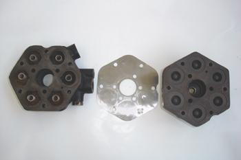 Inyección K-Jetronic. Despiece del cabezal hidráulico