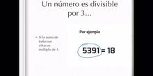 PRIMARIA - 6º B - CRITERIOS DE DIVISIBILIDAD - MATEMÁTICAS - MARTA