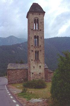 Iglesia de Sant Miquel d´Engolasters, Principado de Andorra