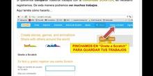 Registro en Scratch