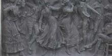 Relieve de la obra Las castañeras picadas de Don Ramón de la Cru