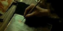 Proceso de grabado y estampación en «Los fantasmas de Goya» (M. Forman, 2006)