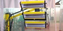 Equipo de secado por infrarrojos
