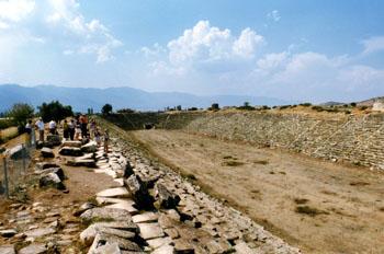 Estadio, Afrodisias, Turquía