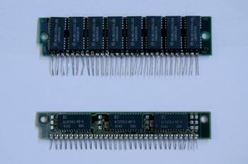 Módulo de memoria tipo SIP 30 contactos