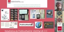 EdiDig LB-11 Estadística de PublicaMadrid