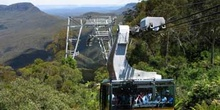 Teleférico en las Montañas Azules, Sydney, Australia