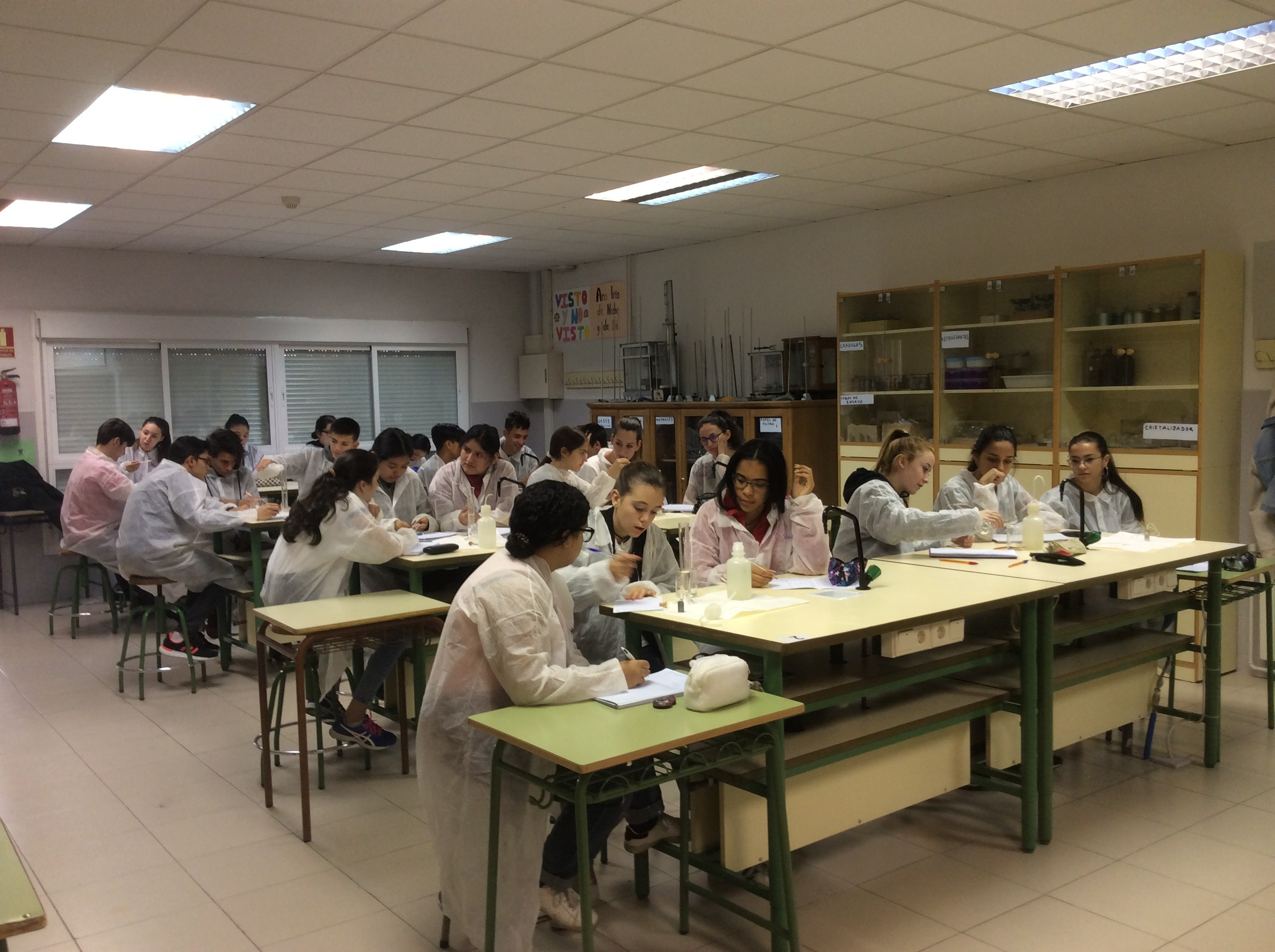 Fotos de Ampliación de Física y Química 6