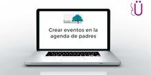 Crear evento en la agenda de los padres o tutores legales