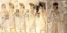 Relieve Procesión de los Tributarios, Persépolis (Irán)