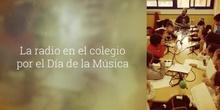 La radio en el colegio por el Día de la Música
