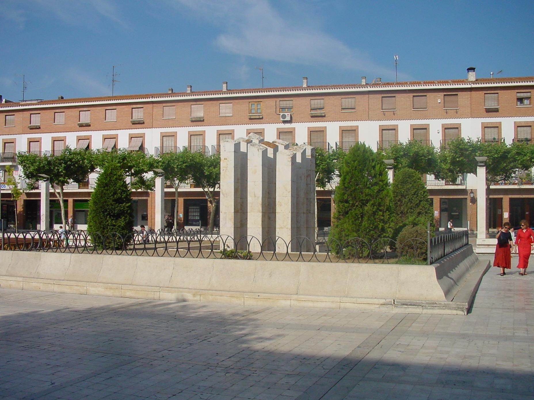Plaza en Torrejón de Ardoz