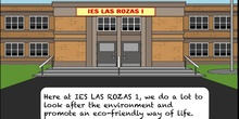 "Cartoons 1º ESO Biology ""Our eco-school"""