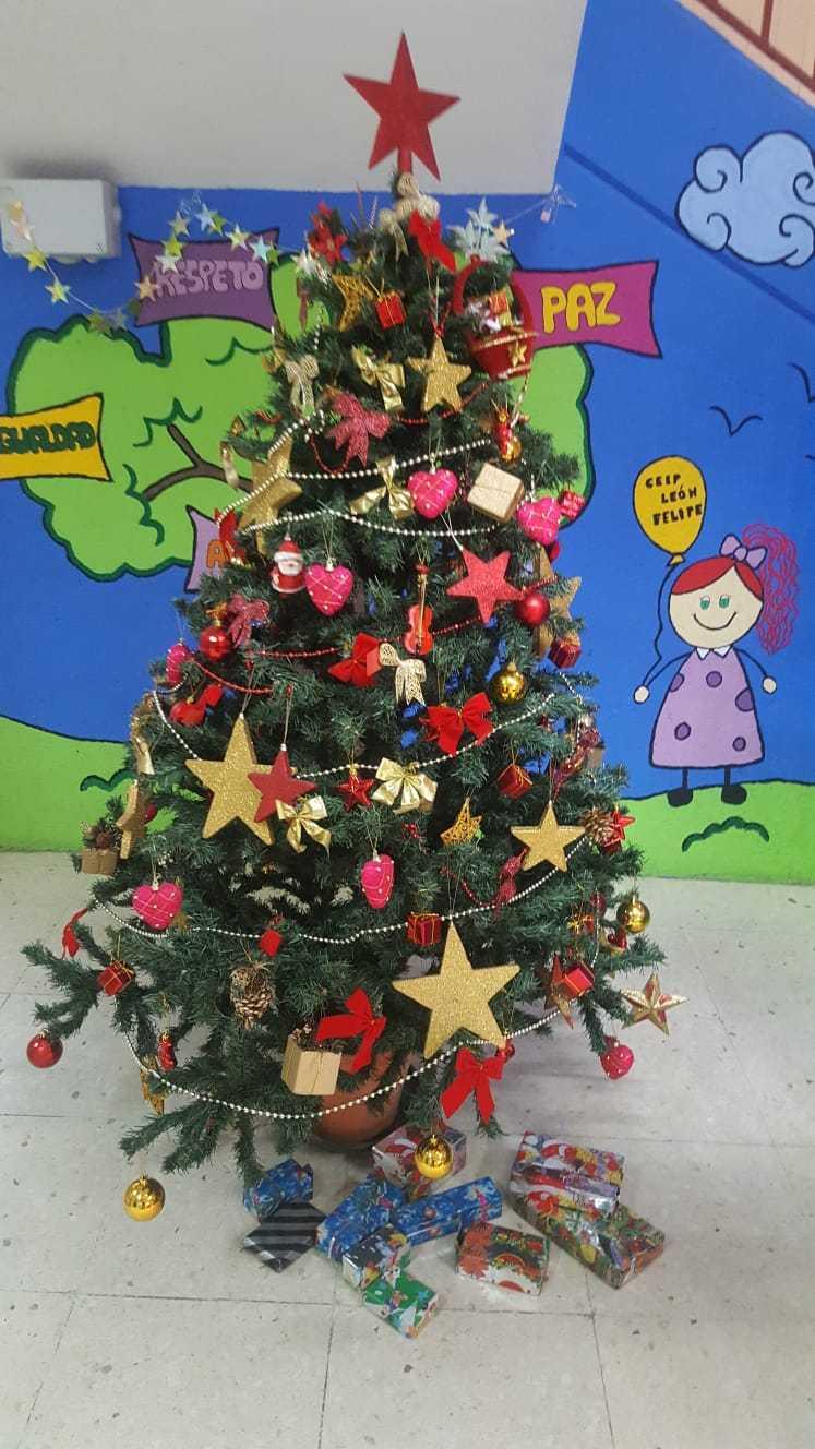 Decoración navideña centro 6