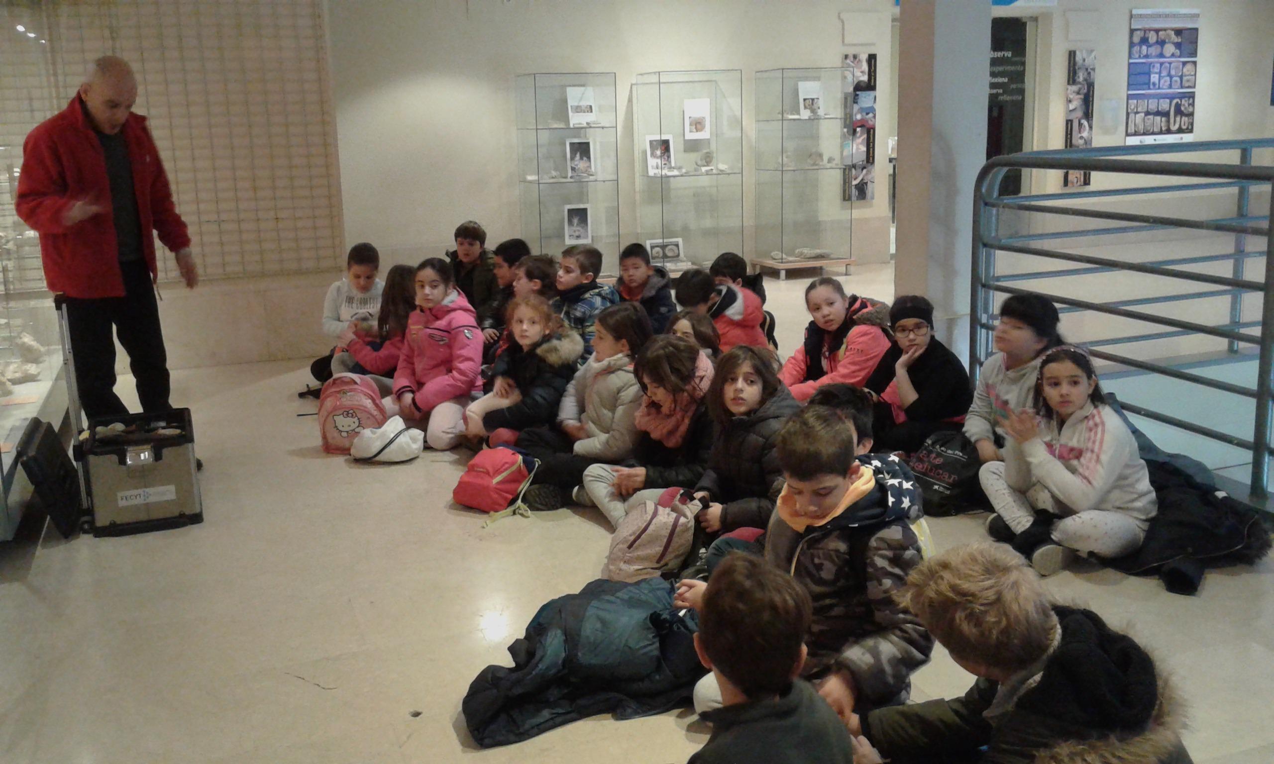 VISITA AL MUSE DE CIENCIAS 3ºA 3