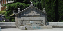 Fuente de piedra en Torrelodones