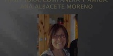 En recuerdo de nuestra compañera, amiga y profesora: Ana Albacete.
