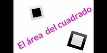 PRIMARIA - 6º - ÁREA DEL CUADRADO - MATEMÁTICAS