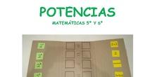 MATERIAL TEACCH POTENCIAS 5º Y 6º