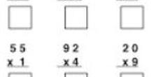 Multiplicación en torre