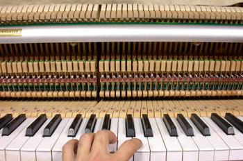 Tocar el piano