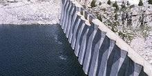 Detalle de la presa de Respomuso