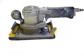 Lijadora neumática rectangular vibratoria
