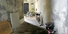 Entrada lateral Plaza del Anfiteatro, Lucca