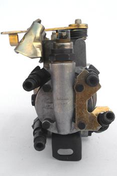 Bomba de inyección DPAC. Vista de salidas de inyectores