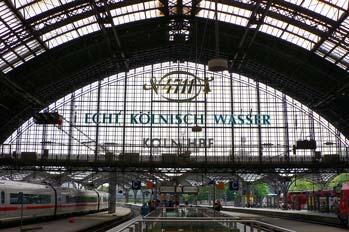 Estación de trenes de Colonia, Alemania
