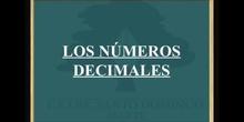SECUNDARIA 2º - NÚMEROS DECIMALES 3 - MATEMÁTICAS