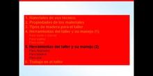 1º ESO / Tema 2 -> Punto 5 - Herramientas del taller y su manejo (2)